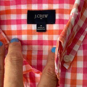 J. Crew Shirts - J. Crew | plaid bright colored button up M